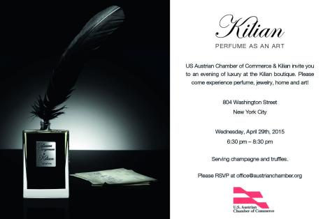 Invitation by Kilian April 29