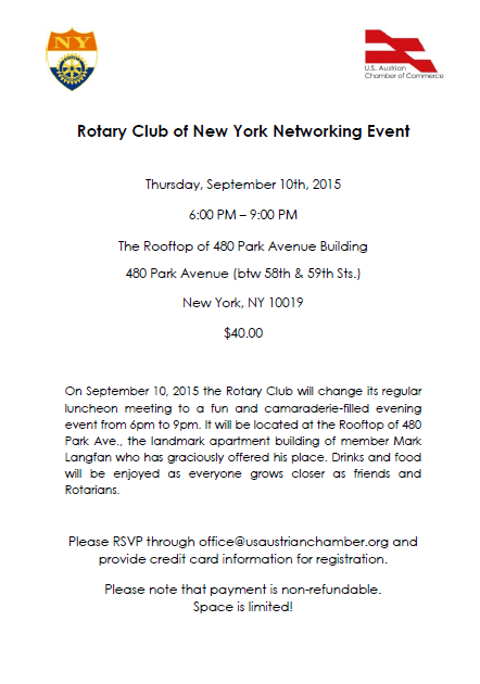 Rotary Networking Event